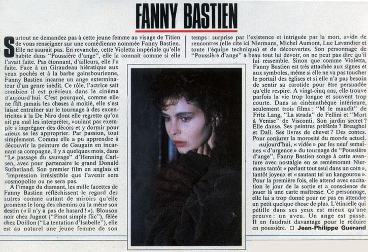 fanny bastien premiere cinema