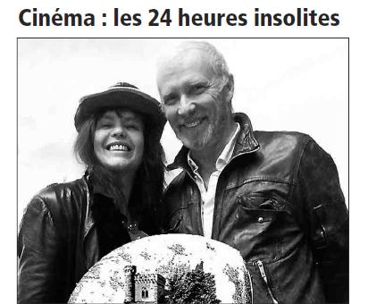 Article de Presse : Fanny Bastien -Festival de l'insolite L INDÉPENDANT 28 FEV 2017