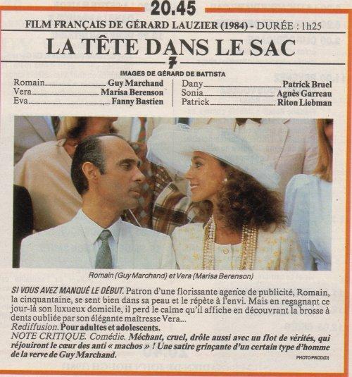 La tête dans le sac - Film - Fanny Bastien Actrice
