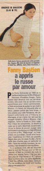fanny bastien article presse