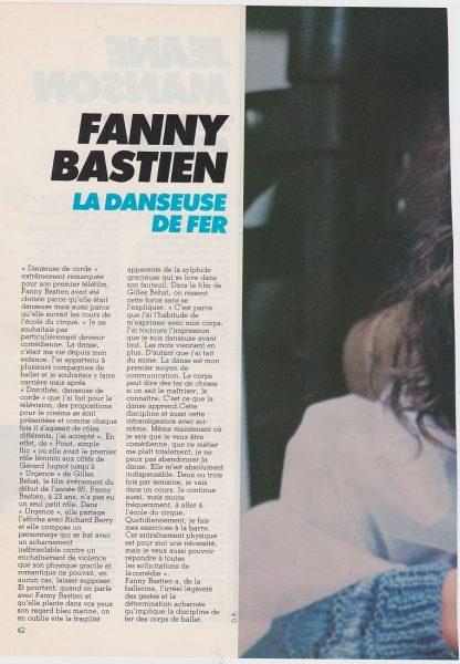 fanny bastien article