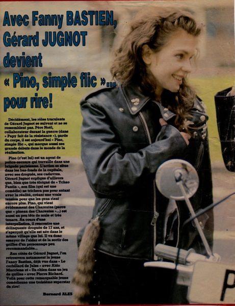 Fanny Bastien : Article de presse cinerevue