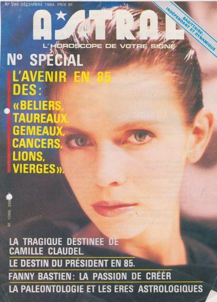 Fanny Bastien : astral Article de presse